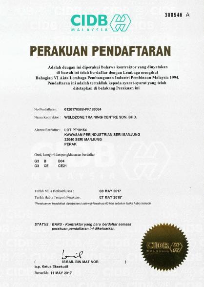 sijil cidb