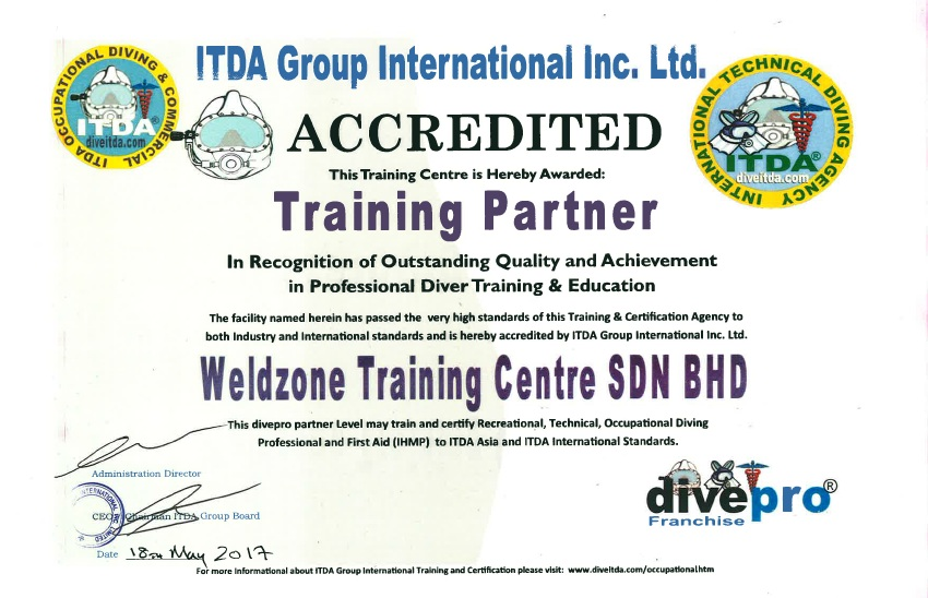 training accreditation